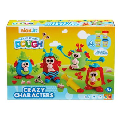 Nick Jr Ready Steady Dough Crazy Characters