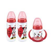 Nuk Mickey / Minnie Bottles Promo Pack - Assorted