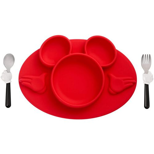The First Years Disney Mickey Mouse 3 Piece Mealtime Set