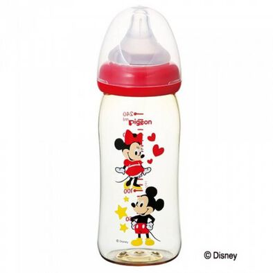 Pigeon Nursing Bottle 240ml Mickey and Minnie