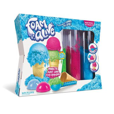 Foam Alive Make N Melt Ice Cream Kit