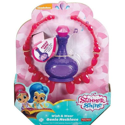 Shimmer and Shine Genie Necklace