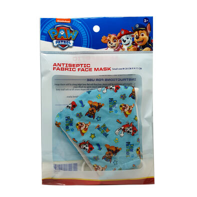 Paw Patrol 3 Layer Antiseptic Fabric Mask (Kids)