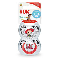 Nuk Toy Story Silicone Soother (2/Box) 6-18M