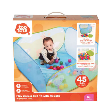 Top Tots Play Zone & Ball Pit With 45
