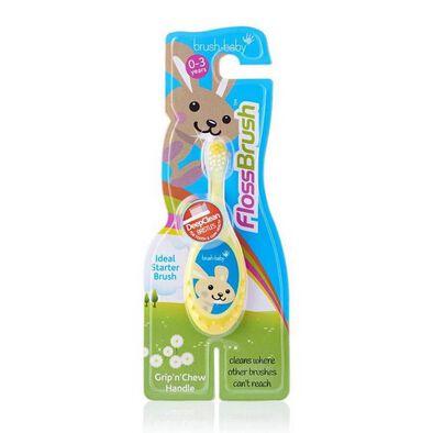Brush Baby FlossBrush 0-3 Years - Assorted
