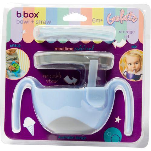 B.Box Bowl And Straw Bubblegum
