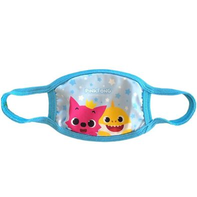 Pinkfong Fashion Mask Pinkfong & Baby Shark Blue