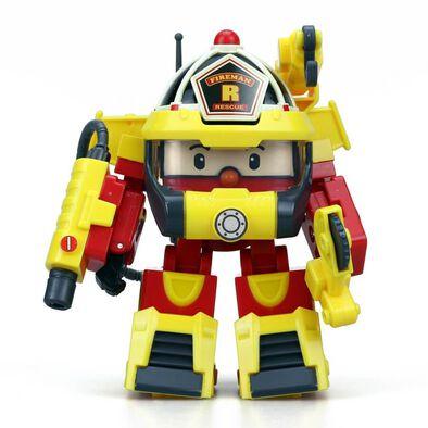 Robocar Poli 4 Inch Action Pack Roy Super Fireman