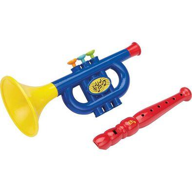 BRU Pre-School 2pcs Music Instrument - Assorted