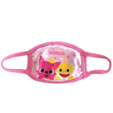 Pinkfong Fashion Mask Pink
