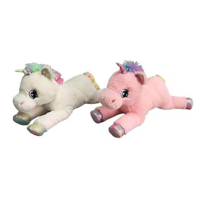 "Toys""R""Us 22 Inch Lying Unicorn"