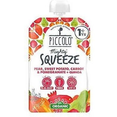 Piccolo Squeeze Pear, Carrot 100 Gram