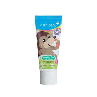 Brush Baby Infant And Toddler Strawberry Toothpaste