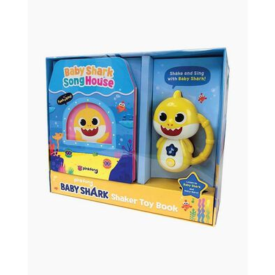 Pinkfong Baby Shark Shaker Toy Book