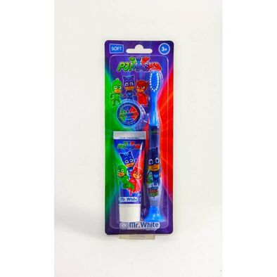 PJ Masks Kit Toothbrush and Toothpaste