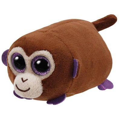 Ty Teeny 4 Inch Monkey Boo The Brown Monkey