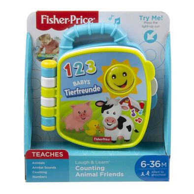Fisher-Price Laugh & Learn Animal Book