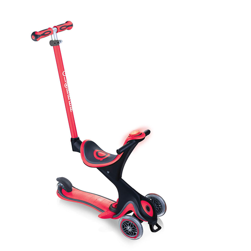 Globber Go•Up Comfort Play Red Toddler Scooter