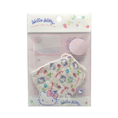 Hello Kitty 3 Layer Antiseptic Fabric Mask