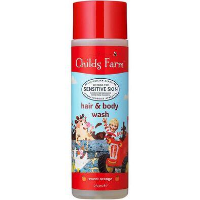 Childs Farm Hair and Body Wash Sweet Orange 250ml