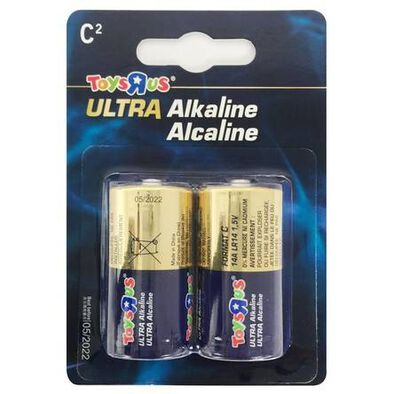 "Toys""R""Us Ultra Alkaline Size C 2's"