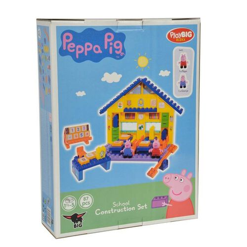 Playbig Bloxx Peppa Pig - School