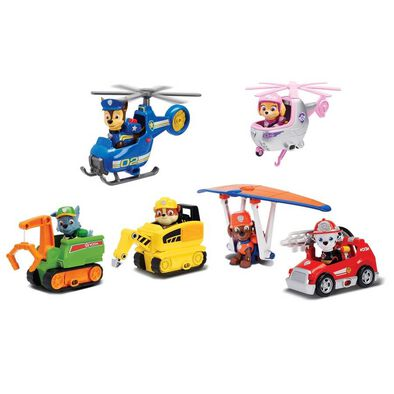 Paw Patrol Mini Vehicle Figure Ultimate Rescue - Assorted