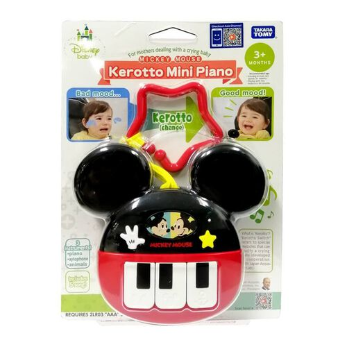 Tomy Disney Mickey Kerotto Mini Piano
