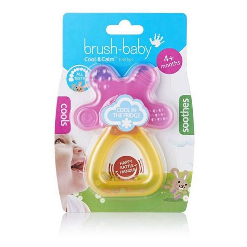 Brush Baby Cool and Calm Teether (Pink/Orange)