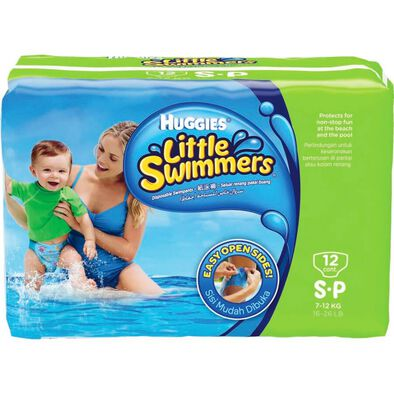 Huggies Pants Little Swimmer Small 12Pc
