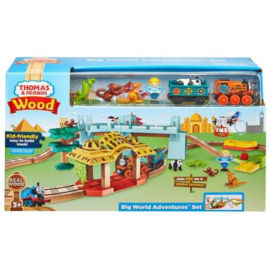 Thomas & Friends Wood Big World Adventures Set