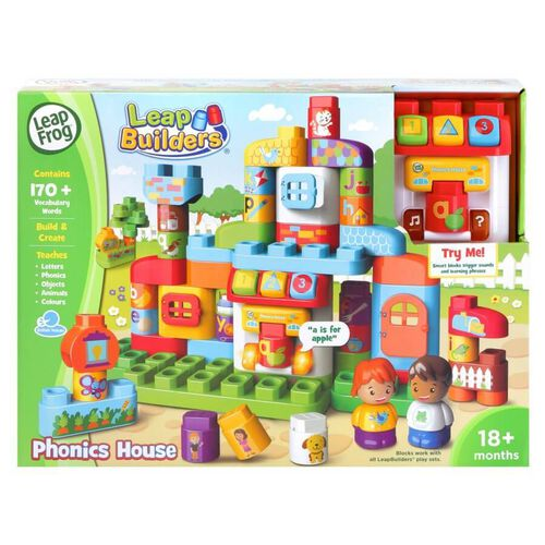 LeapFrog LeapBuilder Block Play - Phonics House