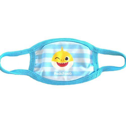 Pinkfong Fashion Mask Baby Shark Blue Stripes