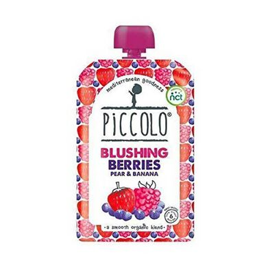 Piccolo Blushing Berries, Pear And Banana