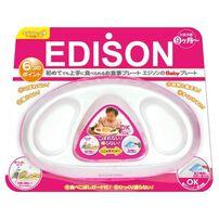 Edison Mama Baby Plate (Pink)