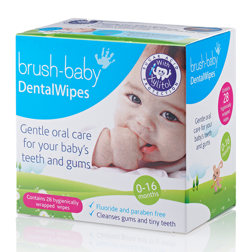 Brush Baby Baby Dental Wipes