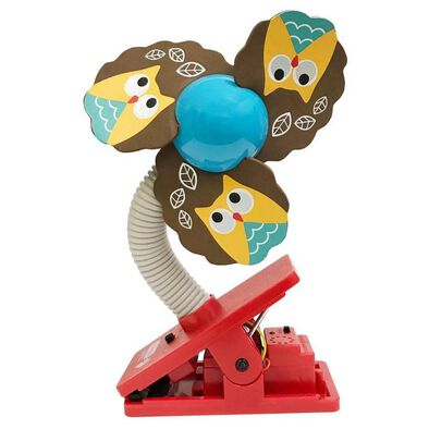 Lucky Baby Mini Clipfan Ult Mosquito Repel Owl
