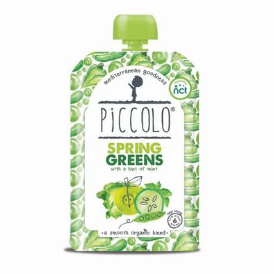 Piccolo Spring Greens, Pear And Apple With Mint