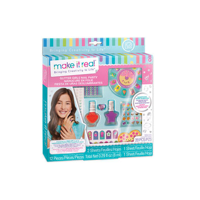 Make It Real Glitter Girls Nail Party
