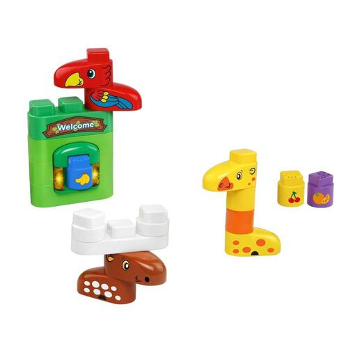 LeapFrog LeapBuilder Block Play - Wild Animals