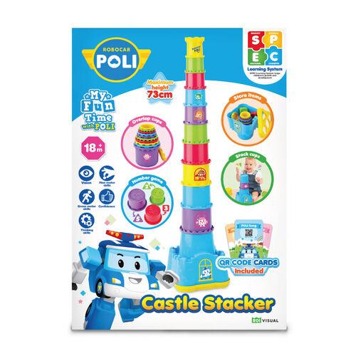 Robocar Poli Castle Stacker